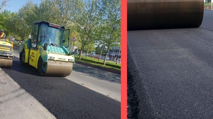 asfaltare curte si drum privat